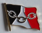 Black Country County Flag Enamel Pin Badge